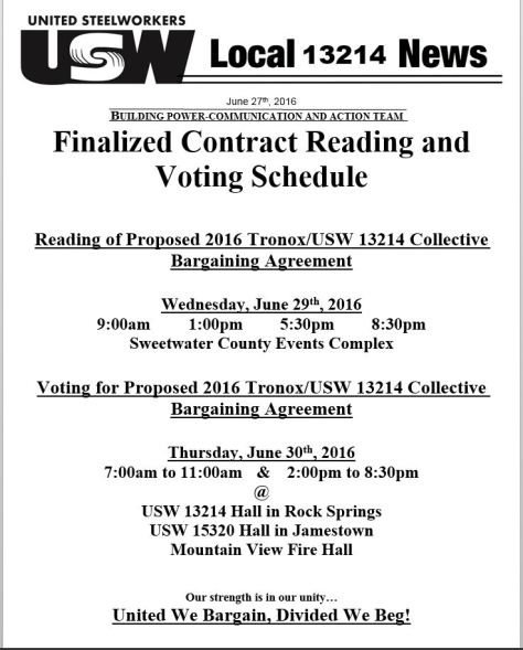 CAT Contract Reading.Vote Schedule Final
